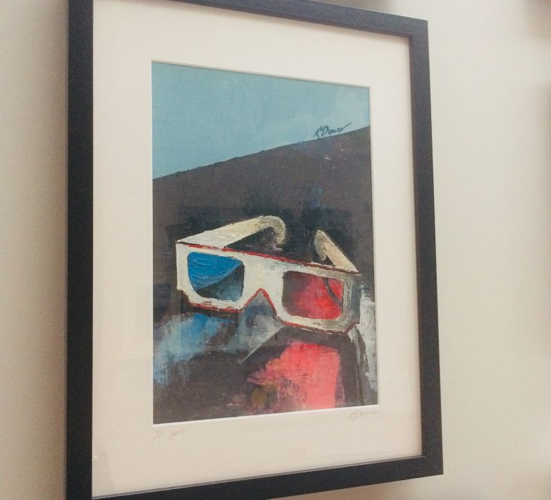 3D specs by Kate Dower