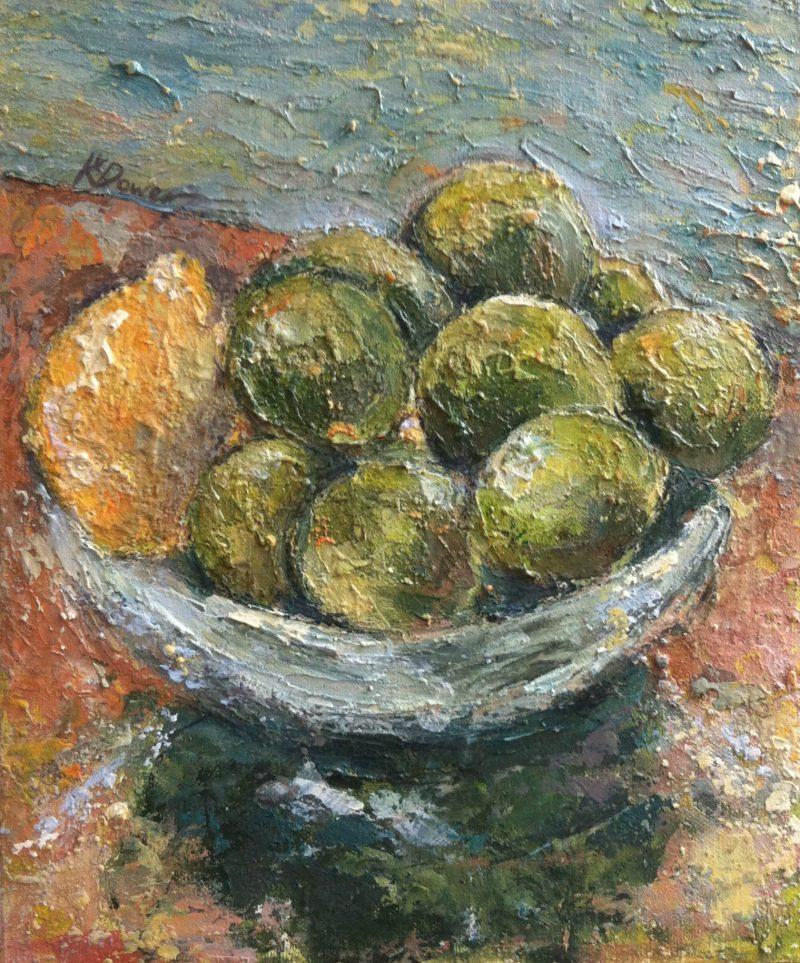 A lemon amongst limes by Kay Dower
