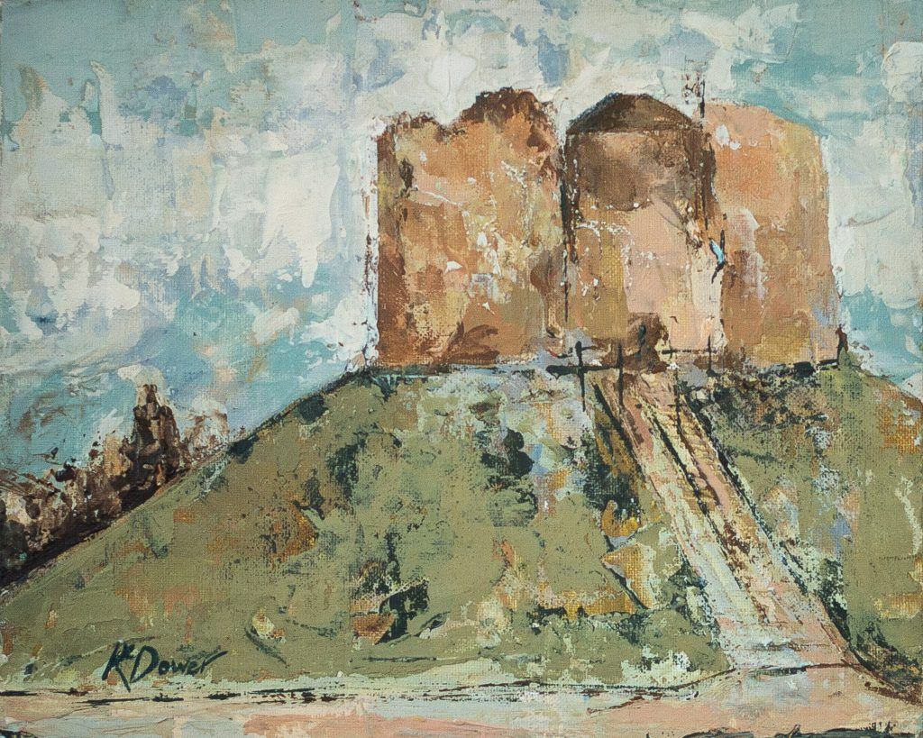 Clifford's Tower by Kay Dower