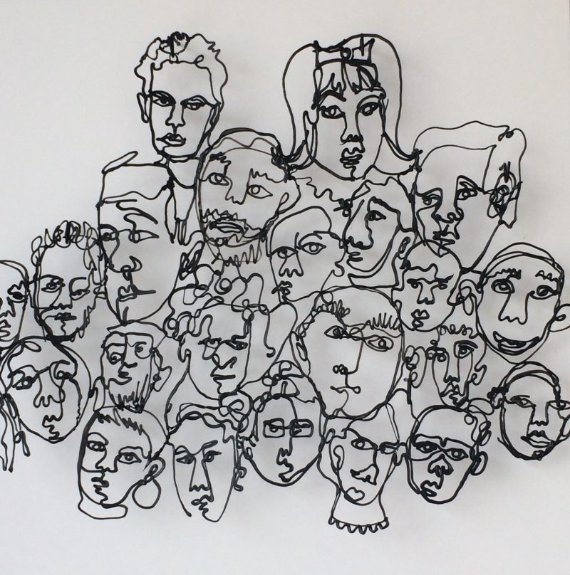 Faces by Charlotte Harvey