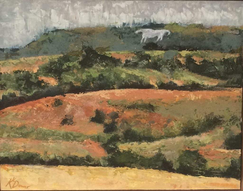 Another_White_Horse_By_Kay_Dower