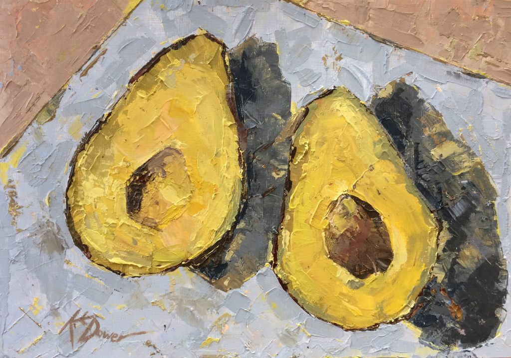 Avocados by Kay Dower