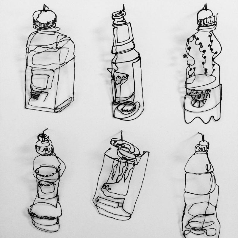 Bottles by Charlotte Harvey