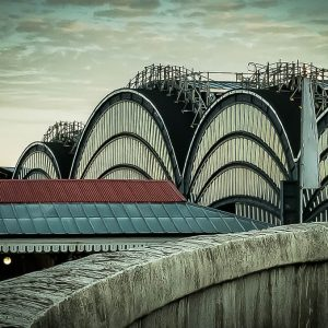York Station Sunrise by Julie Whelan