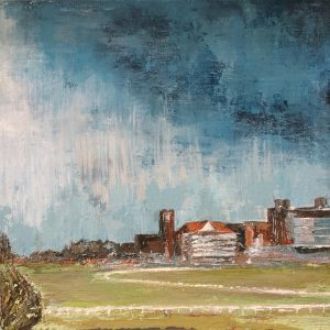 York Racecourse, big sky by Kay Dower