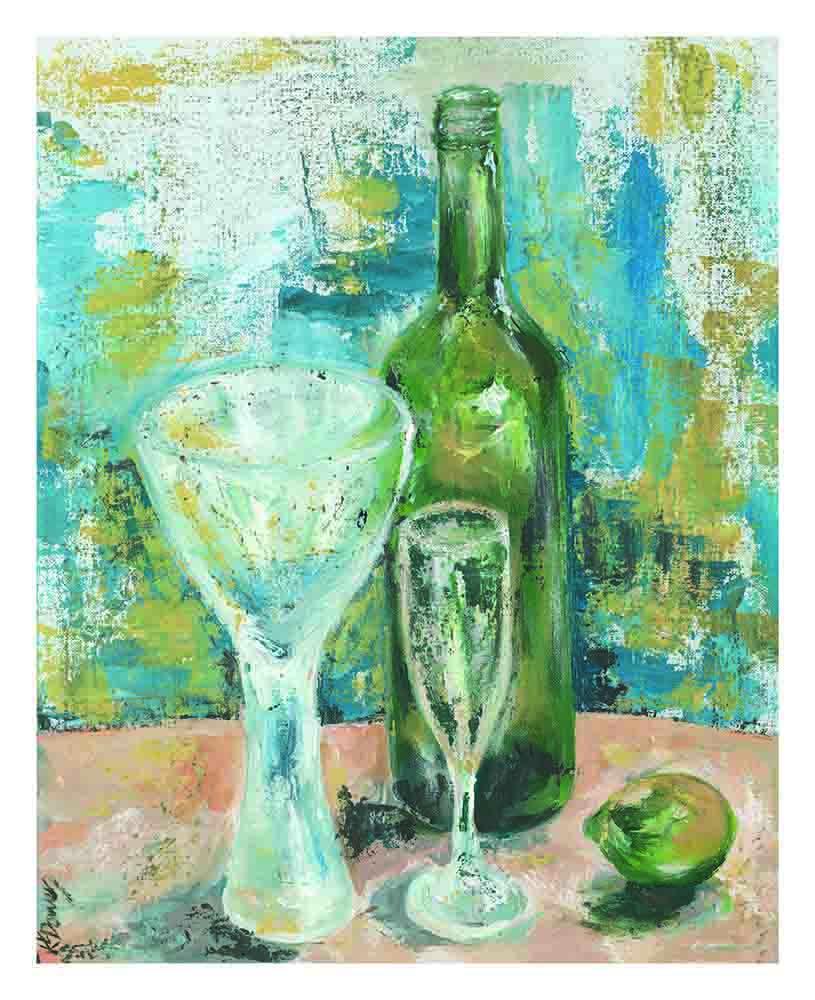 wine o'clock by Kay Dower