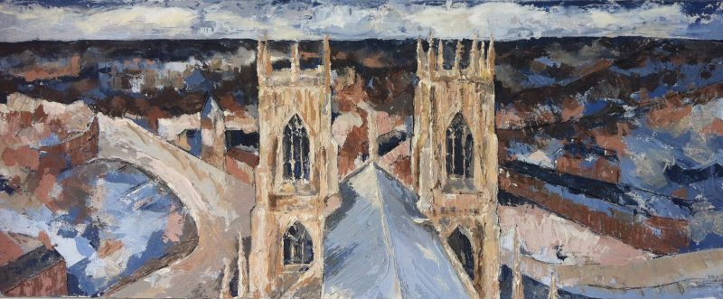 A roof with a view by Kay Dower