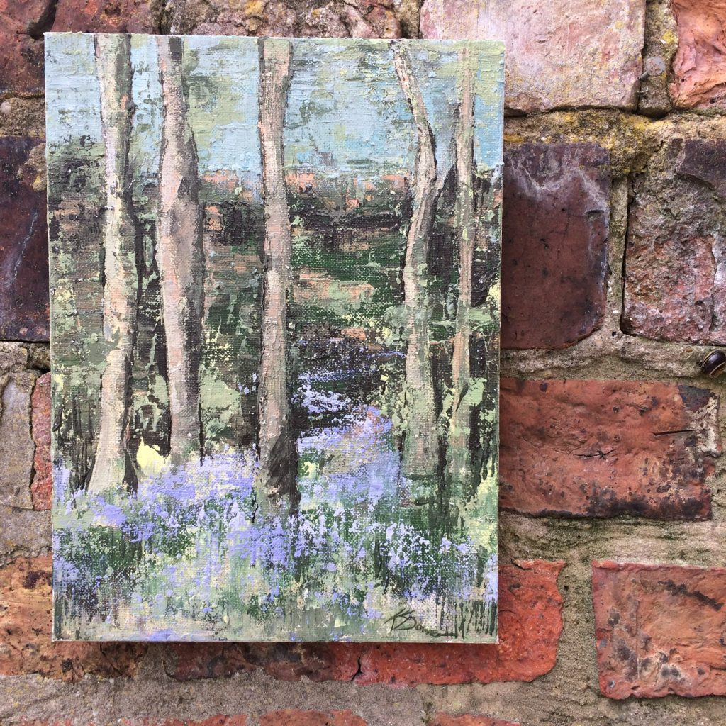 Blue Bell Wood by Kay Dower