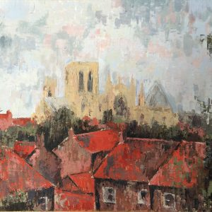 York Rooftops by Kay Dower