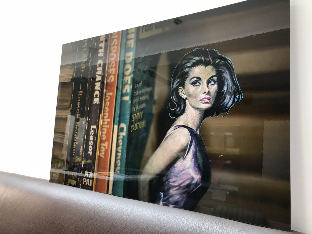 Knowing You by Claire Morris aluminium panel