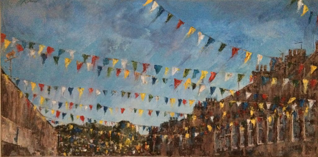 Bishy Bunting Summer 2018 by Kay Dower