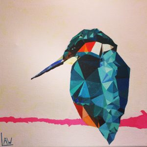 Kingfisher by Lucie Wake